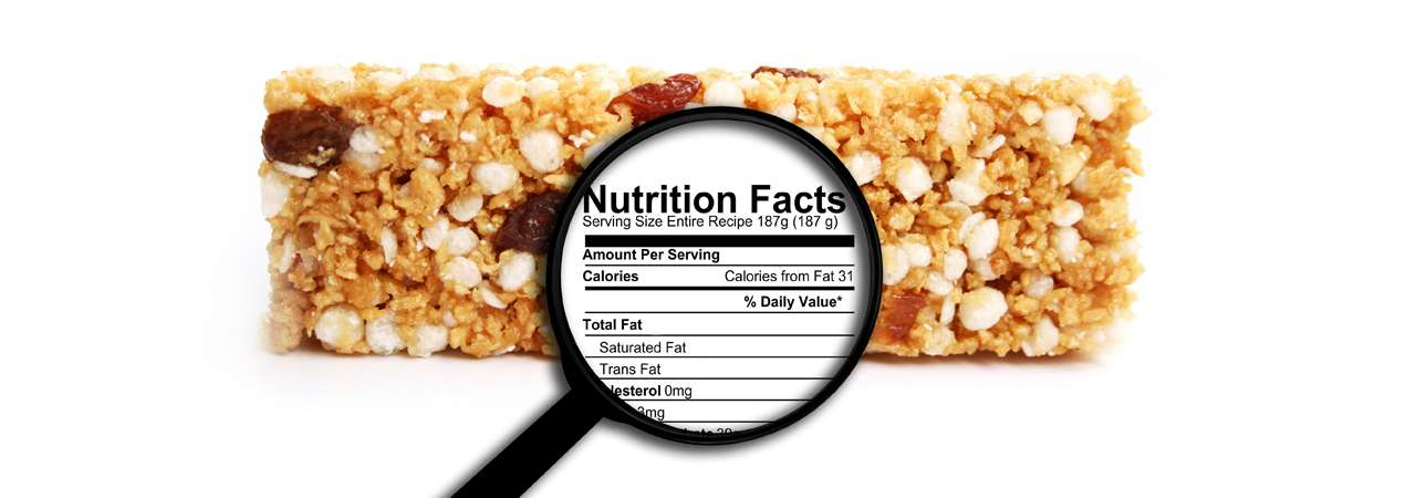Read food labels with ease by using these 4 simple steps. #healthyliving