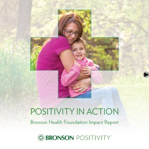 Bronson Health Foundation Impact Report Cover Page