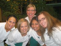 Five Bronson Nurses Standing in Atrium