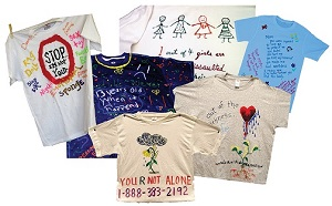 image of collage of t-shirts