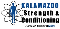 Image of Kalamazoo Strength and Conditioning logo.