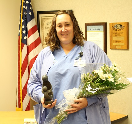 Jeaneen Orbeck, RN, receives DAISY Award