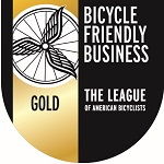 Bicycle Friendly Business Gold Level Logo