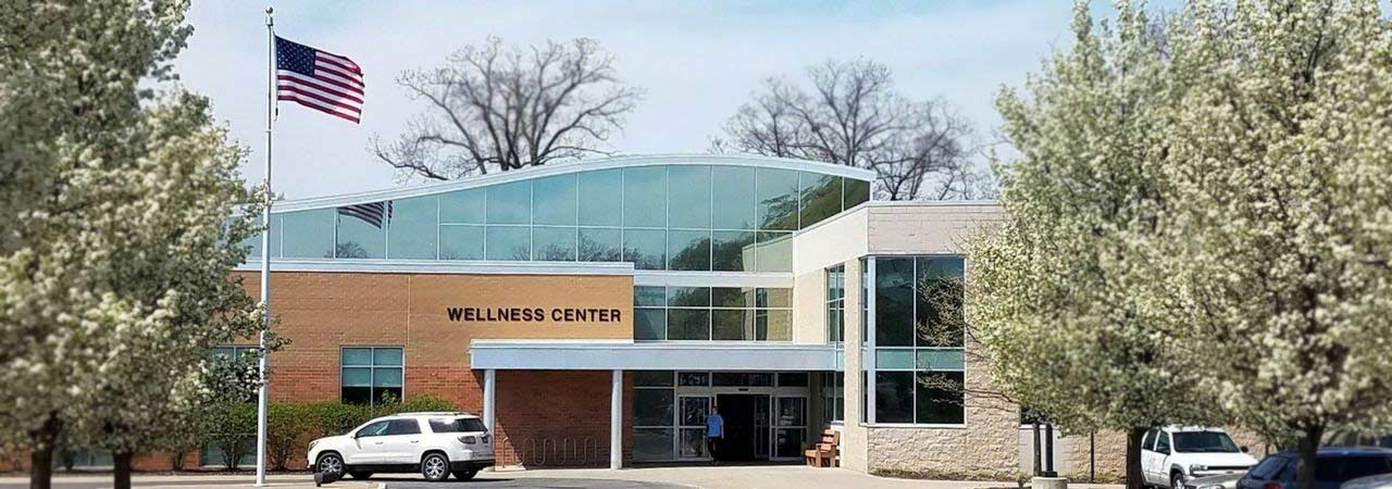 photo of the exterior of Bronson Wellness Center in South Haven Michigan