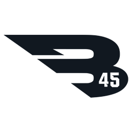 Logo of the B45 Academy.