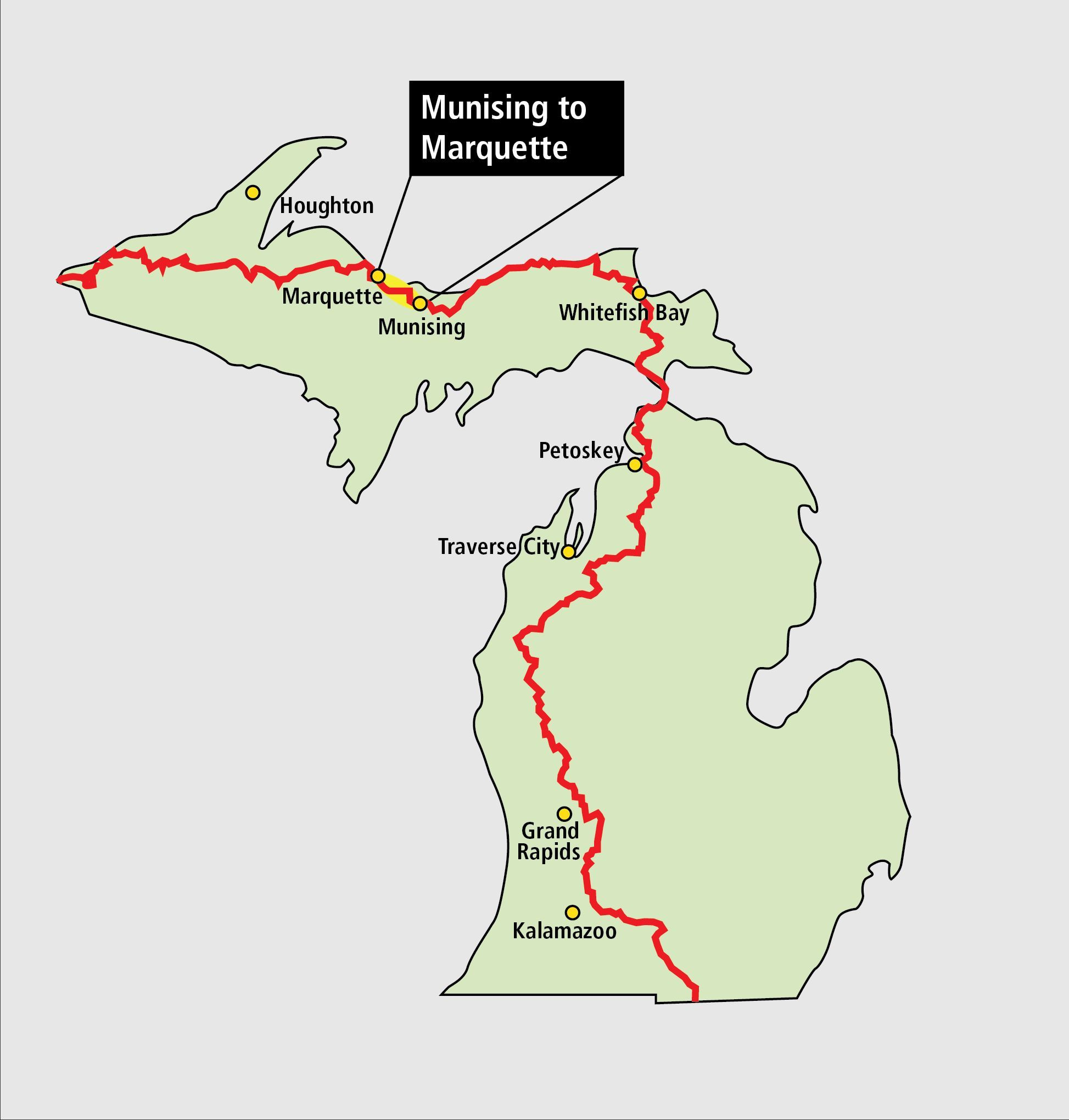 Munising to Marquette