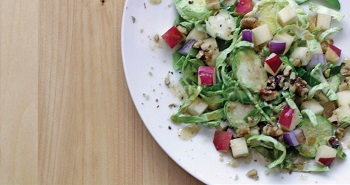 Picture of Brussels sprout and apple salad