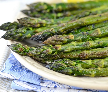 Picture of oven roasted asparagus