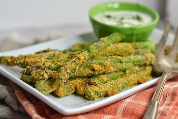 Picture of Parmesan dill asparagus fries