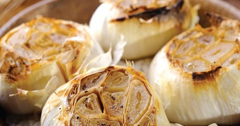 Picture of roasted garlic
