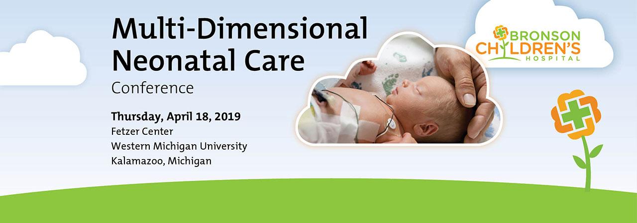 Graphic of neonatal conference banner.