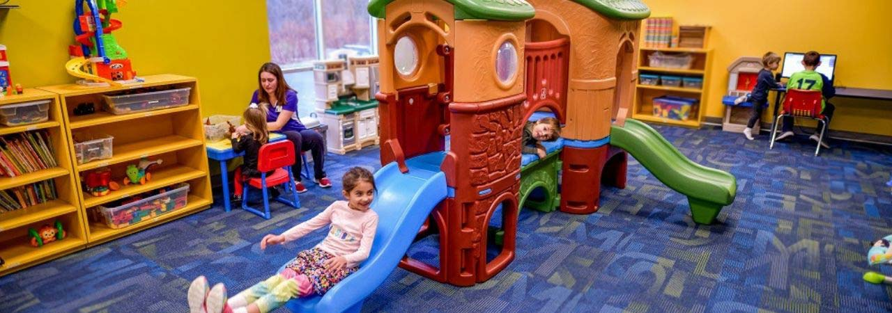 Photo of kids playing in childcare