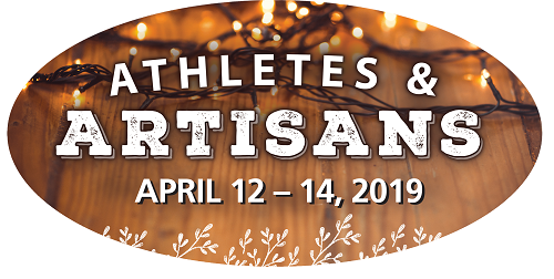 Image of the 2019 Athletes and Artisans Logo