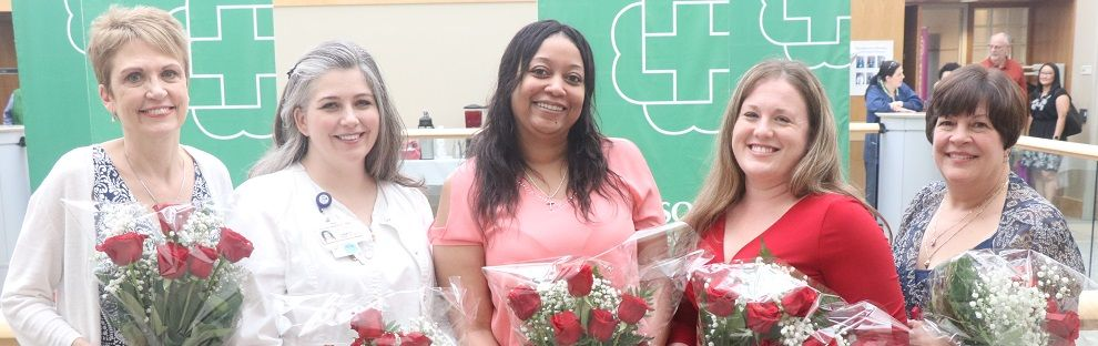Photo of the Bronson Battle Creek Nurses' Week winners from 2019