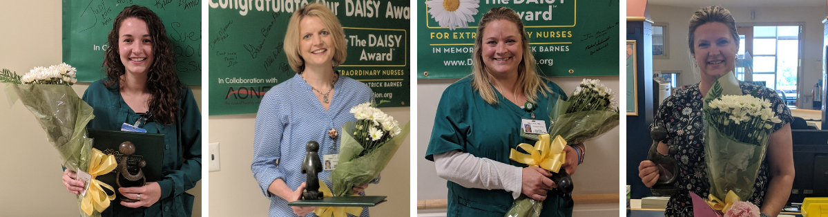 Recipients of the DAISY award