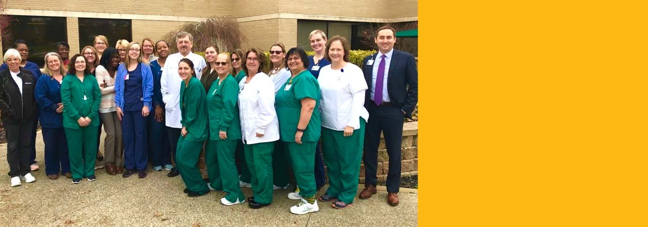 Photo of the Bronson Battle Creek Cancer Care Center team