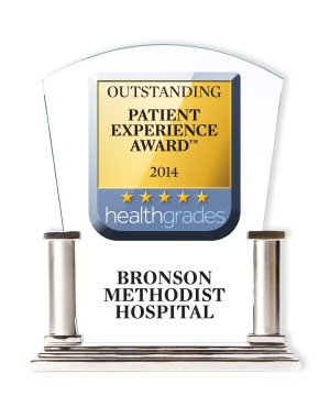 Bronson Methodist Hospital Recognized for Outstanding Patient Experience