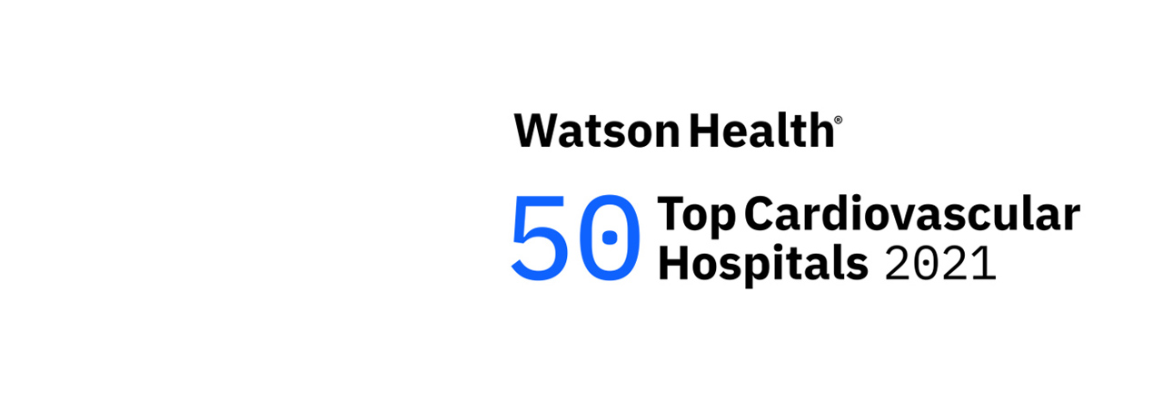IBM Watson Top 50 Cardiovascular Hospital Logo.